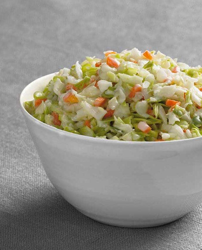 Salade de chou du colonel